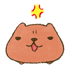 KAPIBARA-SAN & Friends 2 sticker #526128