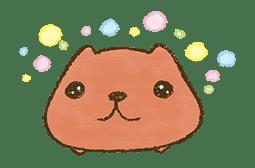 KAPIBARA-SAN & Friends 2 sticker #526135