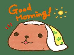 KAPIBARA-SAN & Friends 2 sticker #526140