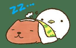 KAPIBARA-SAN & Friends 2 sticker #526141