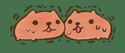 KAPIBARA-SAN & Friends 2 sticker #526142