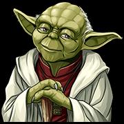 สติ๊กเกอร์ไลน์ Star Wars: Yoda Collection
