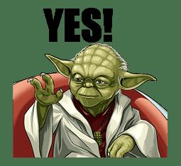 Star Wars: Yoda Collection sticker #639883