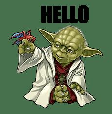 Star Wars: Yoda Collection sticker #639886