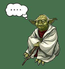 Star Wars: Yoda Collection sticker #639892