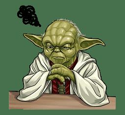 Star Wars: Yoda Collection sticker #639894