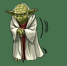 Star Wars: Yoda Collection sticker #639895