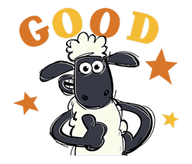 Shaun the Sheep sticker #641626