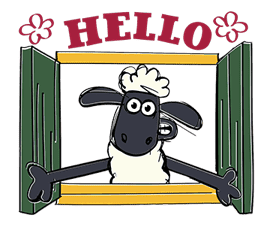 Shaun the Sheep sticker #641627