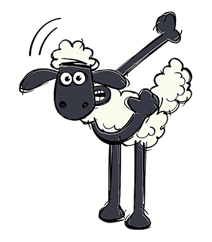 Shaun the Sheep sticker #641629