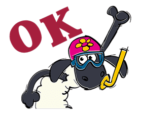 Shaun the Sheep sticker #641631