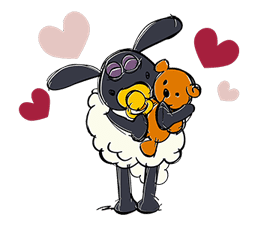 Shaun the Sheep sticker #641635