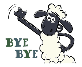 Shaun the Sheep sticker #641641