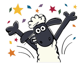 Shaun the Sheep sticker #641643