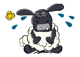 Shaun the Sheep sticker #641644