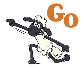 Shaun the Sheep sticker #641651