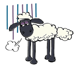 Shaun the Sheep sticker #641655