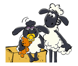 Shaun the Sheep sticker #641656