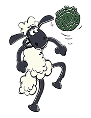 Shaun the Sheep sticker #641664