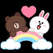 สติ๊กเกอร์ไลน์ LINE Characters: Pastel Cuties