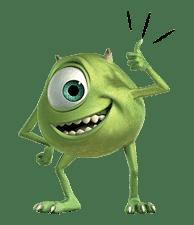Monsters, Inc. sticker #695140