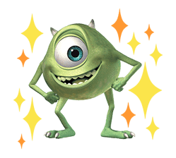 Monsters, Inc. sticker #695156