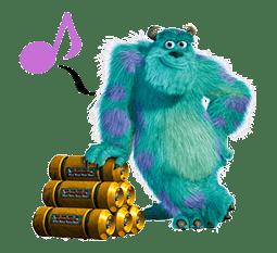 Monsters, Inc. sticker #695157