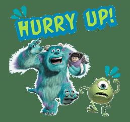 Monsters, Inc. sticker #695159