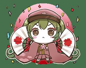 Hatsune Miku senbonsakura sticker #695248