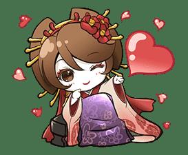 Hatsune Miku senbonsakura sticker #695253