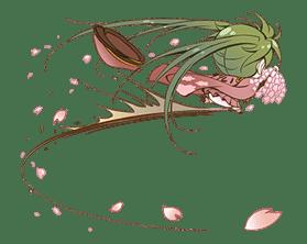 Hatsune Miku senbonsakura sticker #695254