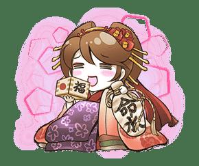 Hatsune Miku senbonsakura sticker #695260