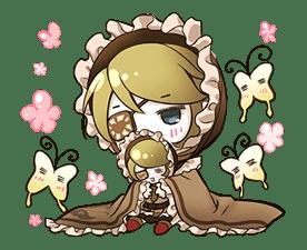 Hatsune Miku senbonsakura sticker #695264