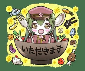 Hatsune Miku senbonsakura sticker #695268