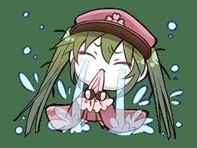Hatsune Miku senbonsakura sticker #695274