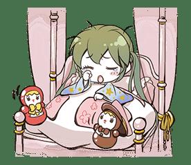 Hatsune Miku senbonsakura sticker #695279