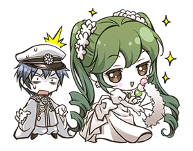 Hatsune Miku senbonsakura sticker #695283