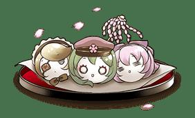 Hatsune Miku senbonsakura sticker #695284