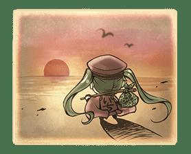 Hatsune Miku senbonsakura sticker #695286