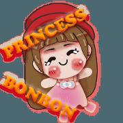 สติ๊กเกอร์ไลน์ Princess BONBON Vol.2