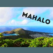 สติ๊กเกอร์ไลน์ I Love Hawaii.