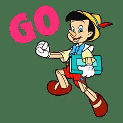 Pinocchio sticker #765188