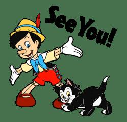 Pinocchio sticker #765220