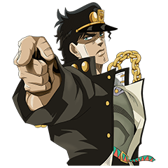สติ๊กเกอร์ไลน์ JoJo No. 3: Jotaro's Team