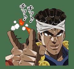 JoJo No. 3: Jotaro's Team sticker #1317069