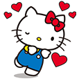 Hello Kitty Animated Stickers (sticker id: 3111)
