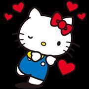 สติ๊กเกอร์ไลน์ Hello Kitty Animated Stickers