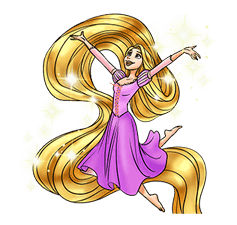 Tangled sticker #1029528