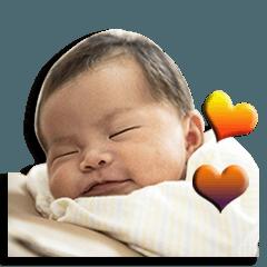 สติ๊กเกอร์ไลน์ JEN_JEN Baby