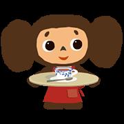 สติ๊กเกอร์ไลน์ Cheburashka: Animated Stickers